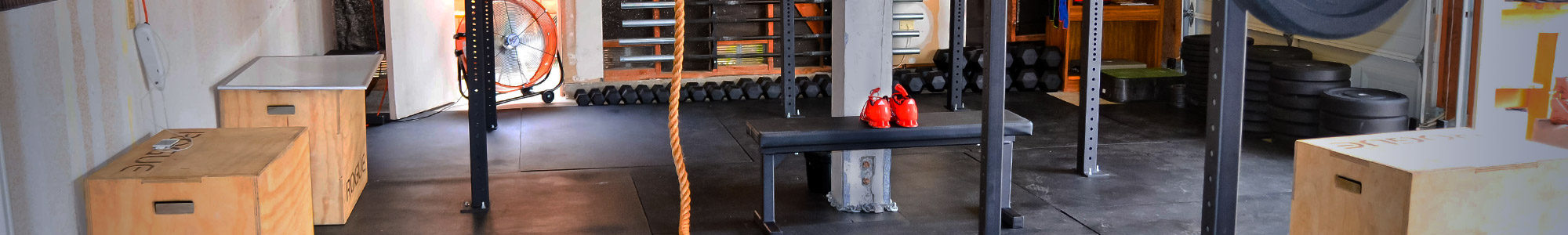 Rogue equipped garage gyms photo gallery fitness