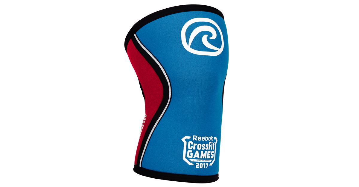 Rehband rx crossfit games knee sleeve blue rogue