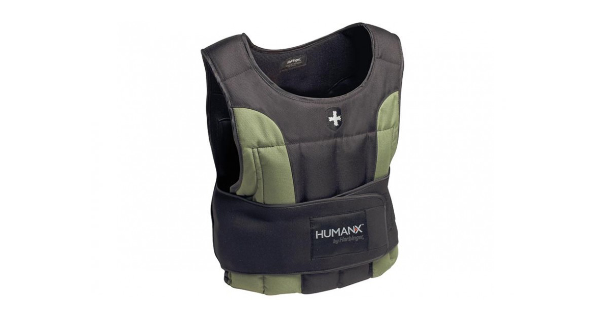 Humanx By Harbinger 20lb Weighted Vest Rogue Fitness