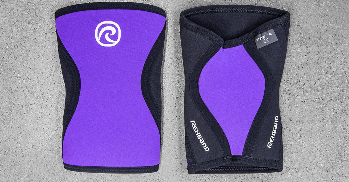 f6bd5dbca1 Rehband 7751 Women's Knee Support - Purple   Rogue Fitness