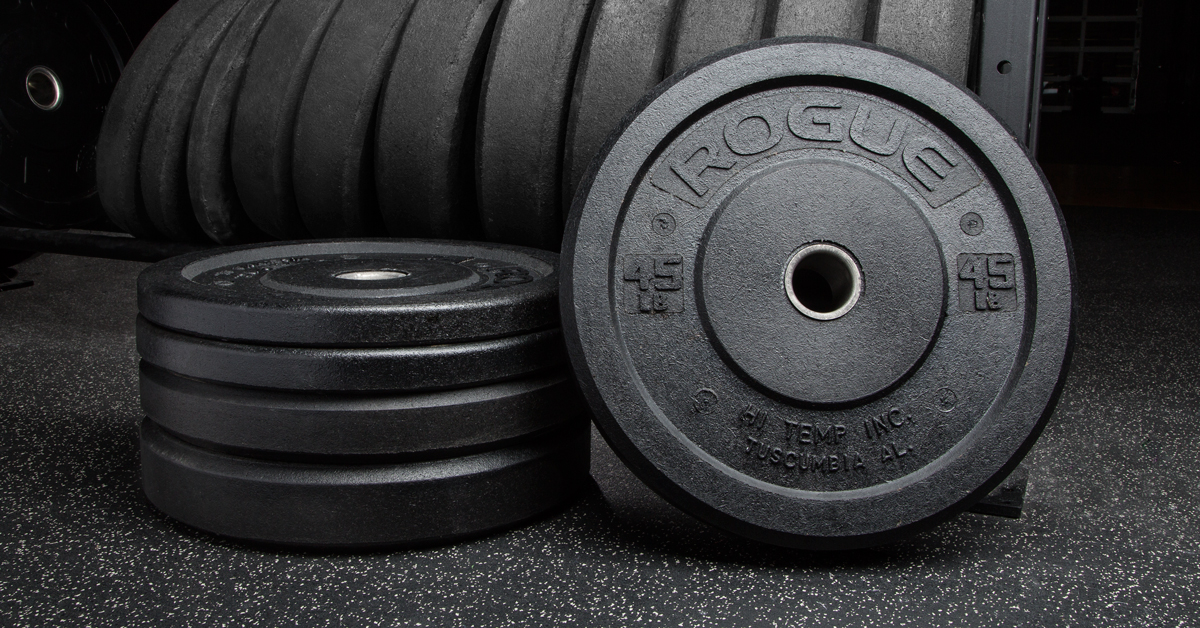 2f55263f2948 Rogue Bumper Plates By Hi-Temp - Weightlifting Plates   Rogue Fitness