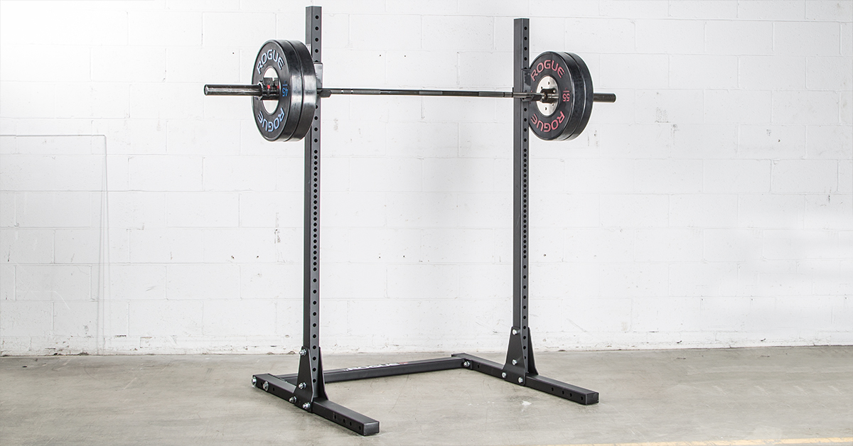 Rogue S 1 Squat Stand 2 0 Weight Training 72 Quot Squat Rack Rogue