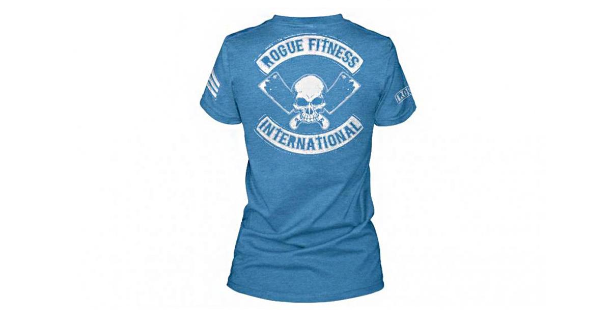 95ffddf30 Rogue Women's International Shirt - Blue | Rogue Fitness