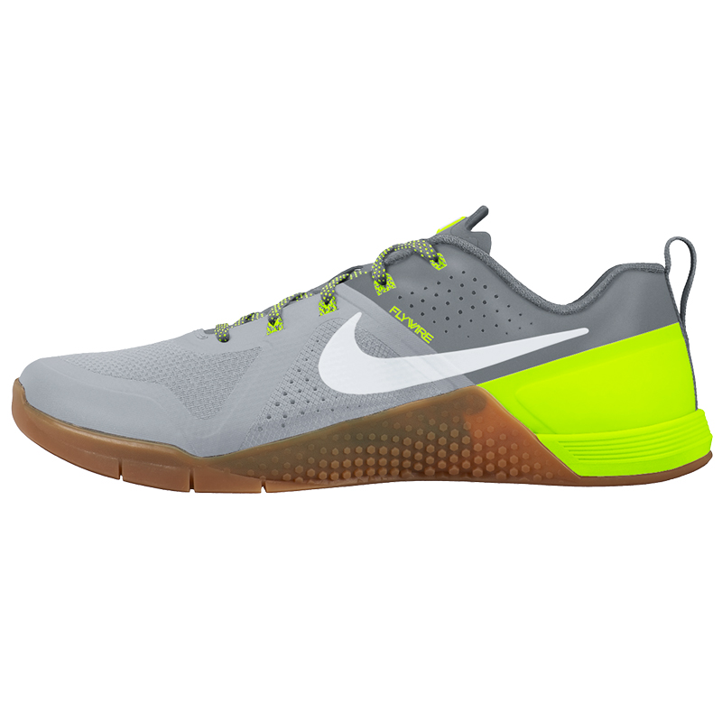 nike metcon 1 wolf grey cool grey volt white. Black Bedroom Furniture Sets. Home Design Ideas