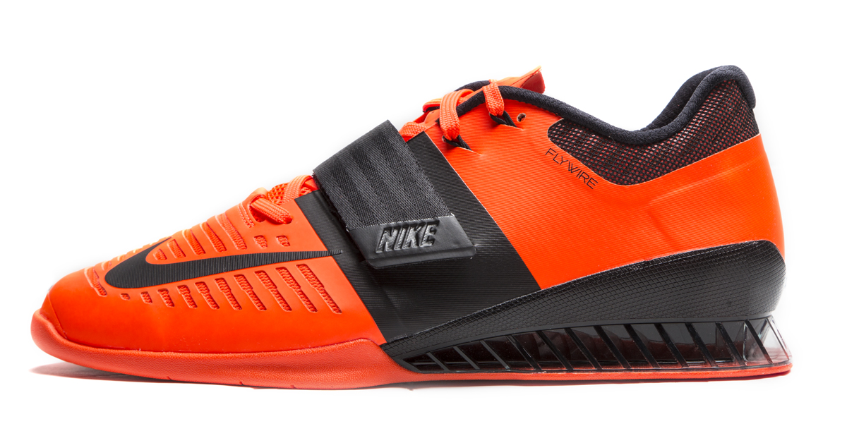 f67256f5d08c66 Nike Romaleos 3 Weightlifting Shoes - Men s - Hyper Crimson   Black - Black