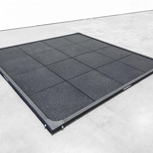 Olympic Lifting Platform: Rogue 8' X 8' Oly Platform