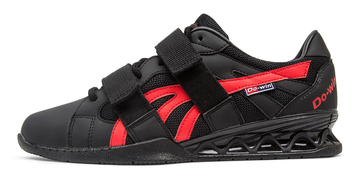 Red Reebok Olympic Weughtlifting Shoes