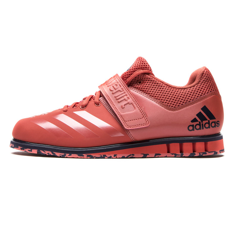 Adidas powerlift uomini e 'gesso pearl / gesso pearl / scarlet