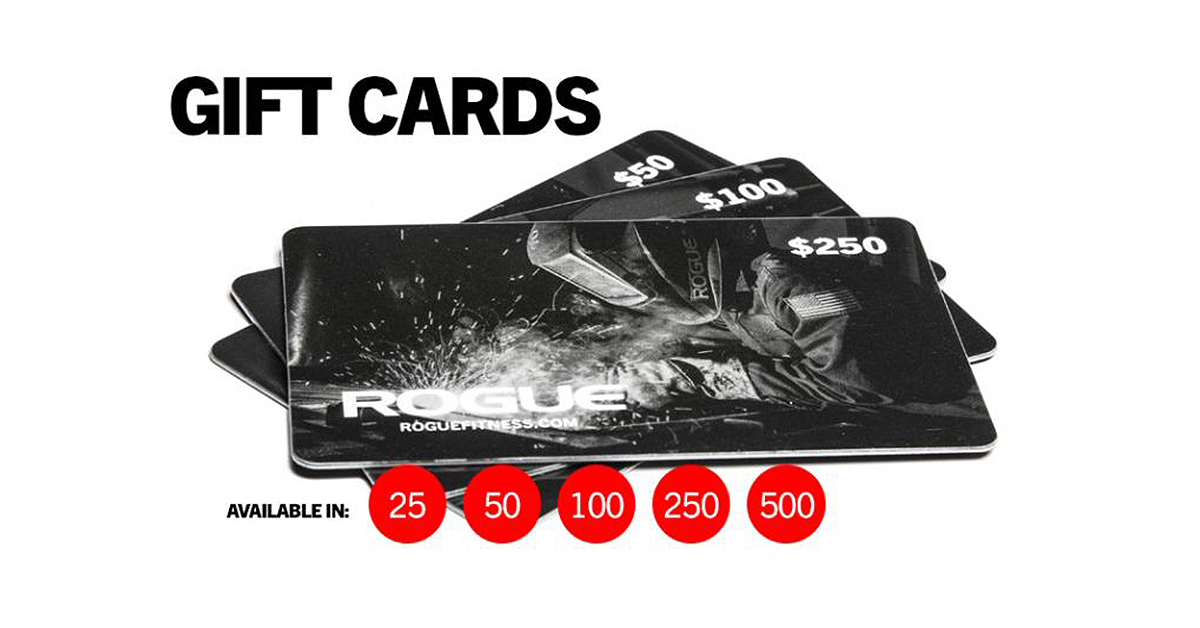 Gift Cards | Rogue Fitness