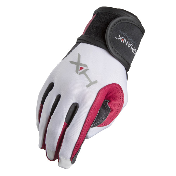 Crossfit Competition Gloves: HumanX By Harbinger Women's Wrist Wrap Gloves