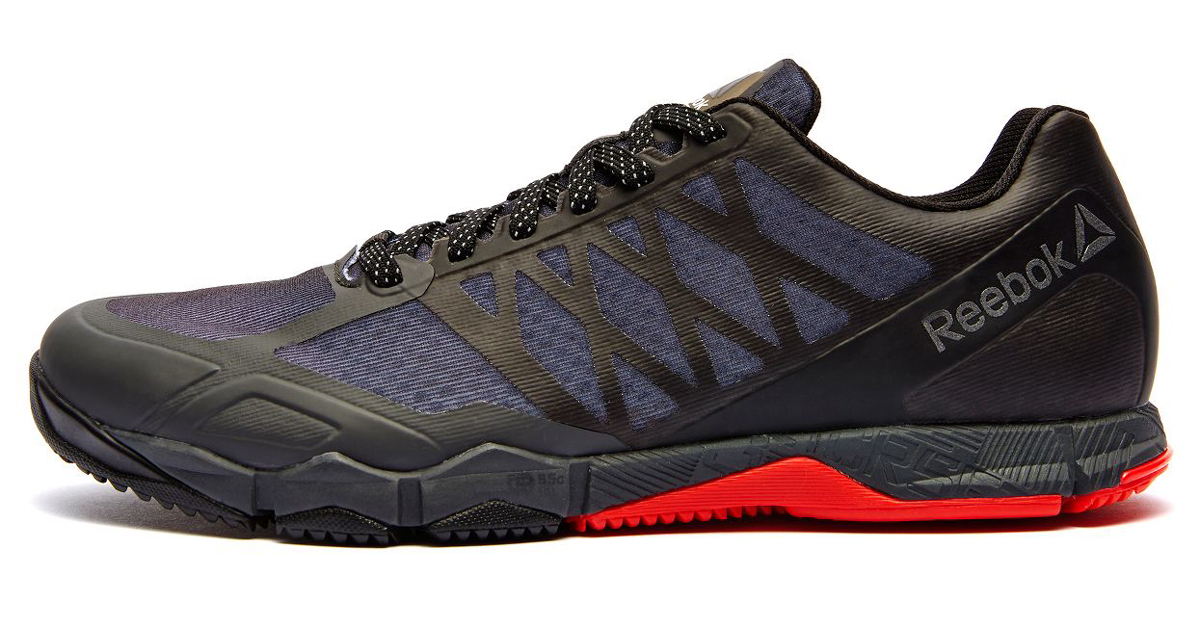 Reebok Crossfit Speed TR - Stealth Black / Coal / Riot Red / Black  Reflective | Rogue Fitness