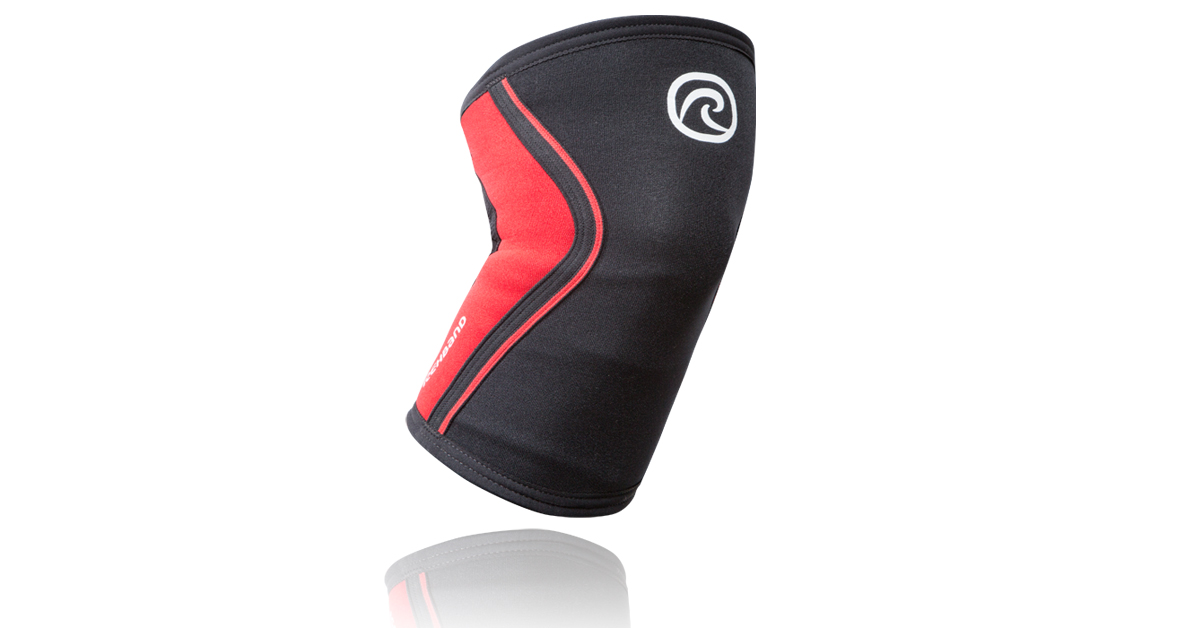 Rehband Rx Knee Sleeve 3mm Blackred Rogue Fitness