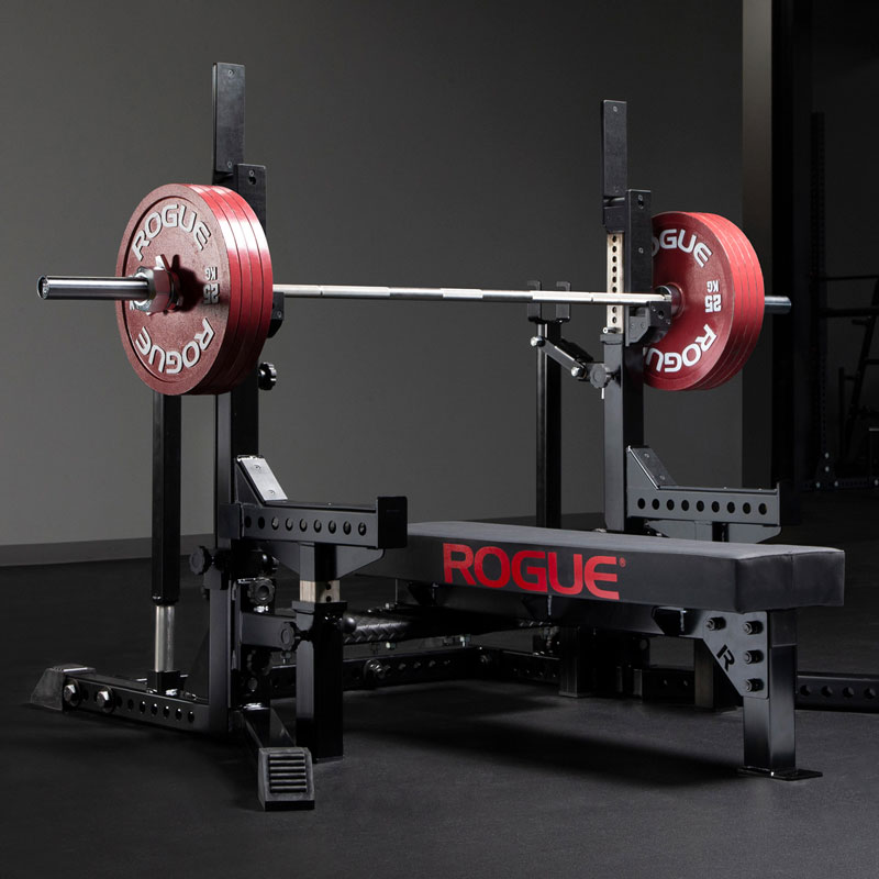 Rogue Combo Rack Black Rogue Fitness
