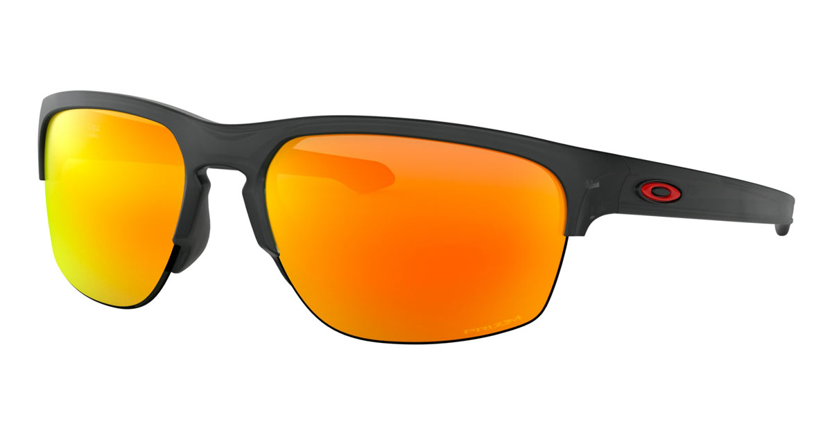 0a9c363f4ac Oakley Sliver Edge Matte Black Ink Prizm Ruby Sunglasses