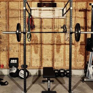 w4 garage gym  custom garage gym setuprogue fitness