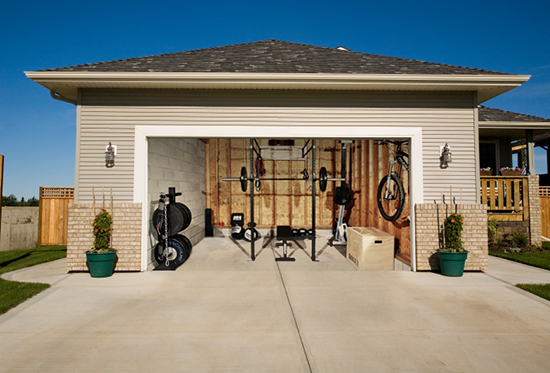 home gyms ideas garage - Garage Gym Submission
