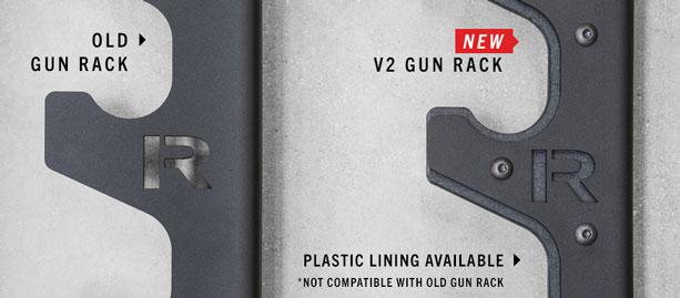 Rogue V2 Gun Rack Horizontal Barbell Holder Rogue Fitness