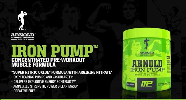 Muscle pharm iron pump