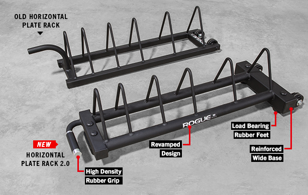 Rogue Horizontal Plate Rack 2.0 : plate weight rack - pezcame.com