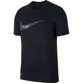 Nike Men's Dry Leg Tee Camo Swoosh Shirt