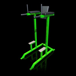 Reflex Abdominal Leg Raise/Dip Station