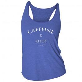 Caffeine & Kilos Barbell Blues Tank