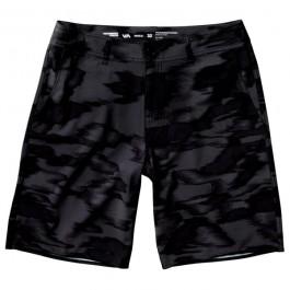 RVCA Camo Haze Hybrid Shorts - Black