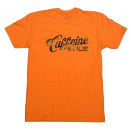 Caffeine & Kilos Camo Script Shirt