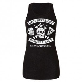 Bad Decisions Barbell Club Women's Tank