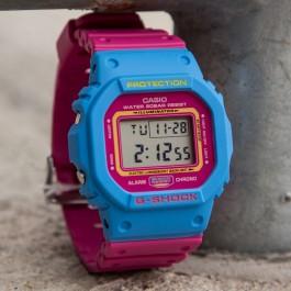 G-Shock 80s Throwback - Blue/Pink