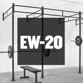 Rogue EW-20 - 20' Echo Wall Mount Rig