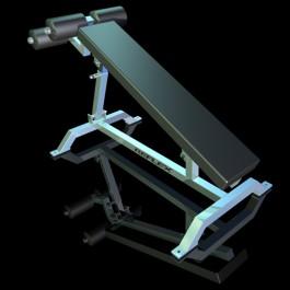 Reflex Adjustable Decline/ Sit-up Bench