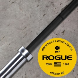 Rogue 25MM IWF Olympic Weightlifting Bar - Cerakote