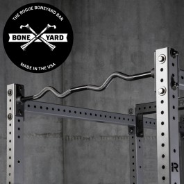 Rogue Boneyard Socket Pull-up Bar Curl Bar