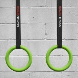 Rogue Gymnastic Rings - Neon