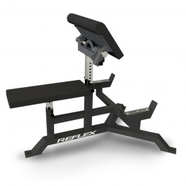 Reflex Preacher Curl with Adjustable Arm