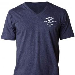 Rogue Barbell Club V-Neck Shirt