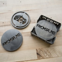 Rogue Laser-Cut Coaster Set
