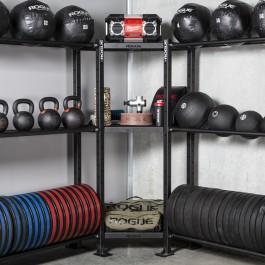 Mass Storage Corner Shelf