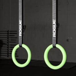 Rogue Gymnastic Rings Neon
