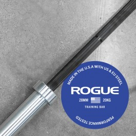 Rogue 28MM Training Bar - Black Zinc