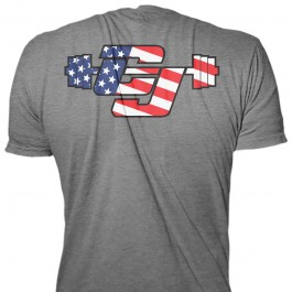 CJ Cummings Flag T-Shirt