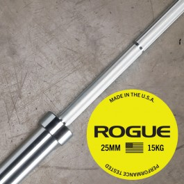 Rogue 25mm Women's Oly Bar - Stainless
