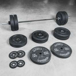 Warrior Bar & Bumper Set