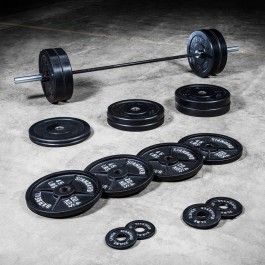 Warrior Bar & Bumper Set