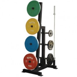 York Single Sided Bumper Plate Tree