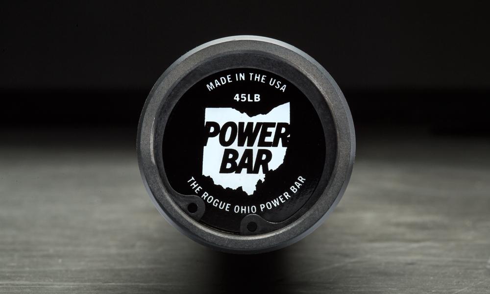 Rogue 45lb Ohio Power Bar Cerakote Rogue Fitness