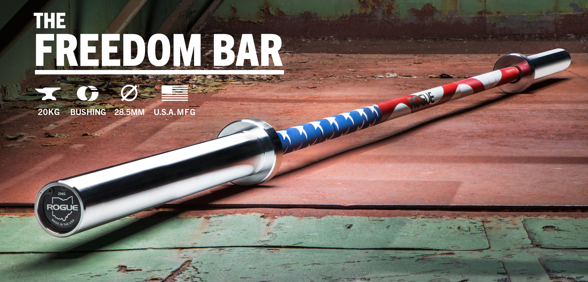Rogue Freedom Bar 28 5mm Rogue Fitness