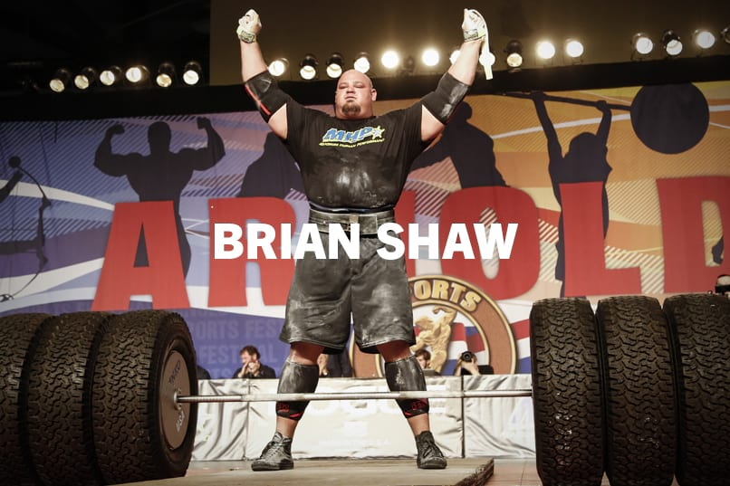 Brian Shaw Professional Strongman Rogue Fitness