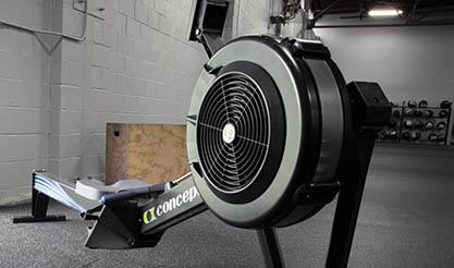 cx concept 2 rowing machine